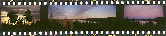 slides: evening in Labrador